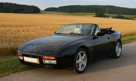 Porsche 944 kabriolet Zdjęcia Royalty Free