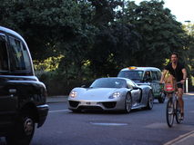 Porsche 918 Royalty-vrije Stock Foto's