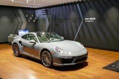 Porsche 911 all'esposizione automatica dell'internazionale di New York jpg Immagine Stock Libera da Diritti