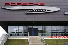 Porsche arena Stuttgart Obrazy Royalty Free