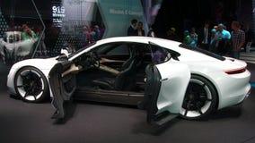 Porsche-Auftrag E an den IAA-Autos Lizenzfreies Stockfoto