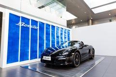Porsche-auto voor verkoop Royalty-vrije Stock Afbeelding