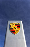 Porsche Automobile Dealership Sign Royalty Free Stock Images