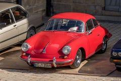 Porsche 356 B - convertible desportivo clássico dos anos 60 Fotografia de Stock