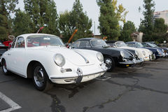 Porsche 356 B on display Stock Image