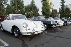 Porsche 356 B på skärm Fotografering för Bildbyråer