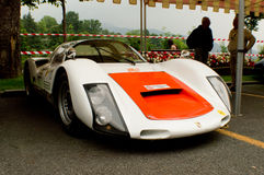 Porsche 906 at Bergamo Historic Grand Prix 2015 Stock Photography