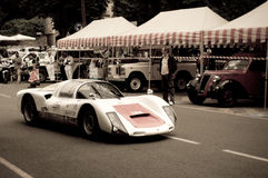 Porsche 906 at Bergamo Historic Grand Prix 2015 Stock Photo