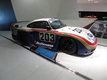 Porsche 961 bieżny samochód Obrazy Stock