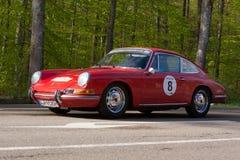1965 Porsche 912 bij ADAC Wurttemberg Historische Rallye 2013 Stock Afbeelding