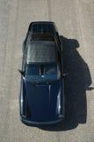1985 Porsche 911. Birds eye view Stock Photography