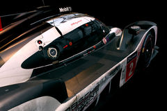 Porsche 919 blandLe Mans racerbil Arkivbilder