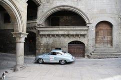 Porsche blu-chiaro 356 1500 eccellenti Fotografia Stock