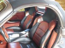 Porsche Boxer S. Borsche Boxer S cabrio interior stock image
