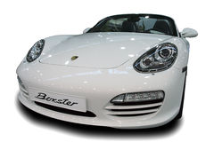 Porsche Boxster. A Porsche Boxster at The Big Blu - 5TH EDITION FOR THE BOAT AND SEA EXPO OF ROME  in Rome, Italy for the dates of February 19, 2011 through Stock Images