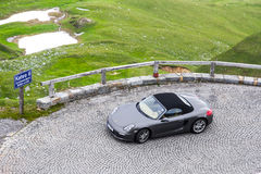 Porsche 987 Boxster Royalty-vrije Stock Fotografie
