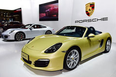 The Porsche Boxster car Stock Photo