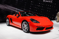 Porsche 718 Boxster Royalty Free Stock Images