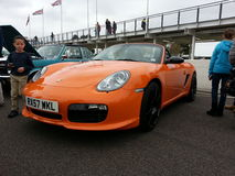 Porsche Boxster. Goodwood Soft Top Sunday 2014 Royalty Free Stock Photos