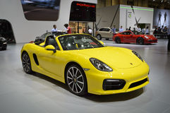 Porsche Boxster Royalty Free Stock Photo