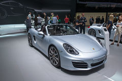 Porsche Boxster S Stock Photo