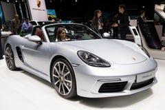 Porsche 718 Boxster sportów samochód Obrazy Royalty Free