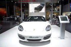 Porsche boxster sport car Stock Photos