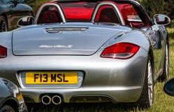 Porsche Boxster sports car royalty free stock photo