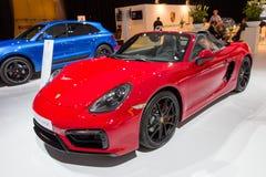 Porsche Boxter GTS Imagen de archivo libre de regalías