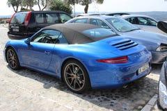Porsche 911 Cabriolet van Carrera S Royalty-vrije Stock Afbeeldingen