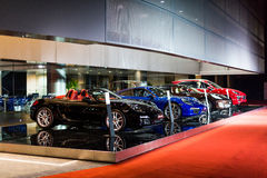 Porsche car for sale. Porsche car at car dealership showroom stock images