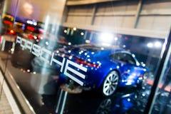 Porsche car for sale Royalty Free Stock Photo