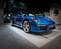 Porsche 2014 911 Carrera Arkivfoton