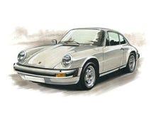 Porsche 911 Carrera illustration de vecteur