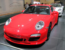 Porsche Carrera 4S. Presented at the Moscow International Autosalon on September 1, 2010 in Moscow, Russia Royalty Free Stock Image