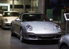 Porsche Carrera 4s no motorshow de Genebra Fotografia de Stock