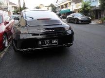 Porsche 911 Carrera 4 Arkivfoto