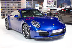 Porsche 911 Carrera-Auto. Royalty-vrije Stock Foto's