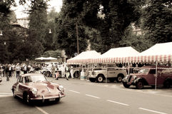 Porsche 356 Carrera at Bergamo Historic Grand Prix 2015 Stock Photos