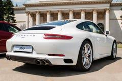 Porsche Carrera blanco 911 imagen de archivo libre de regalías