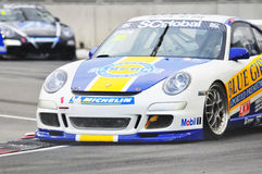 Porsche Carrera Cup Asia - 6 Royalty Free Stock Photography