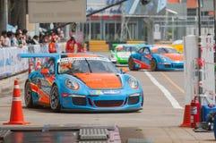 Porsche Carrera Cup Asia, Bang Saen 2017 Stock Image
