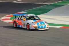 Porsche Carrera Cup Asia Race 2008 Royalty Free Stock Photos
