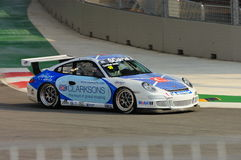 Porsche Carrera Cup Asia Race 2008 Royalty Free Stock Photography