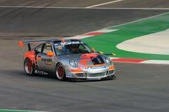 Porsche Carrera Cup Asia Race 2008 Royalty Free Stock Image