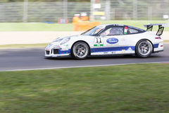 Porsche Carrera Cup Italia car racing Royalty Free Stock Photos