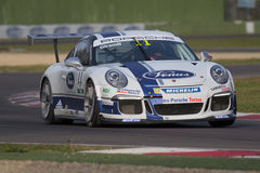 Porsche Carrera Cup Italia car racing Stock Images