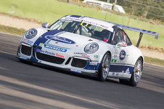 Porsche Carrera Cup Italia car racing Stock Photography