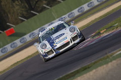 Porsche Carrera Cup Italia car racing Royalty Free Stock Image