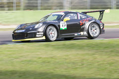 Porsche Carrera Cup Italia car racing Stock Photo